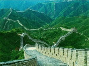 Великая-Китайская-стена-летом